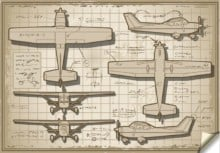 Past projects - Old plane design